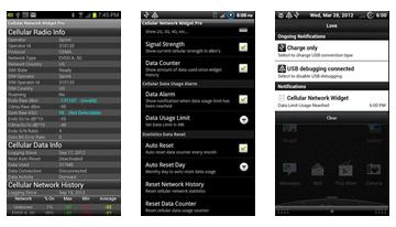 Cellular Network Widget Pro