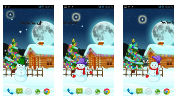 Magic Christmas Live Wallpaper