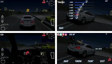 Redline lenktynės GTS