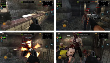 Οργή Z: Multiplayer FPS Zombie