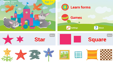 Learn forms and shapes for kid