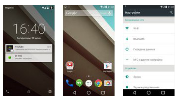 Overview Android L