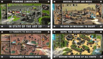 Total Defense 3D Tower Defence