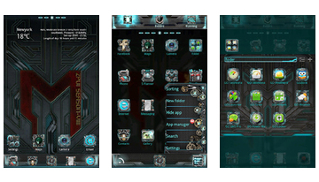 Machinarium GO Launcher Theme
