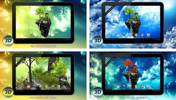 FlyIsland Ücretsiz 3D Live Wallpaper