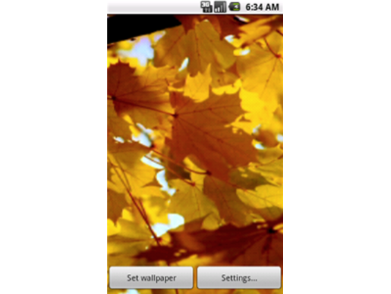 Download Seasons Autumn Live Wallpaper for android Samsung