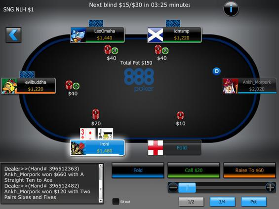 888 Poker Apk Download