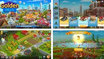 Golden Hills: City Build Sim
