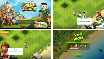 Puzzle Clash: un RPG Match 3