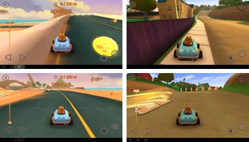 Garfield Kart Fast and Furry