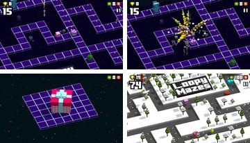 Ütődött mazes: 3D Classic Arcade Pac Man Hopper