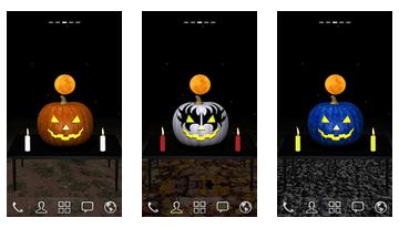 3D Halloween-Kürbis