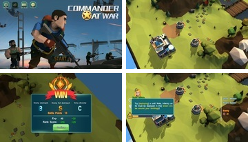 Commander At War-Battle med vänner online!