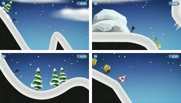 التزلج Stickman