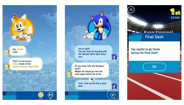 Sonic At The Olympic Game