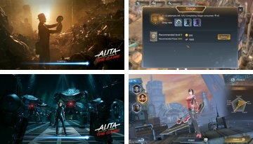 Alita: Battle Angel - Igra CBT
