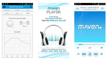 MAVEN 3D Music Player