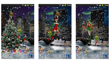 New York Winter Live Wallpaper