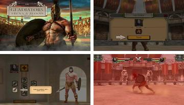 3D gladijatora