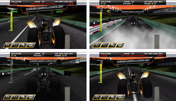 Dragsterin sekasorto - Top Fuel Sim
