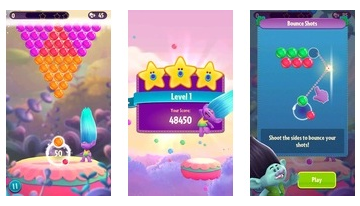 DreamWorks Trolls Pop - Bubble Shooter