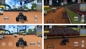 สกปรก Trackin Sprint Cars
