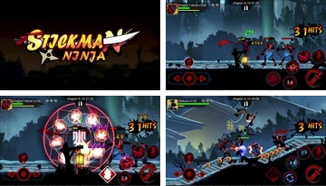 Stickman Ninja Legends Shadow Fighter reversinis karas