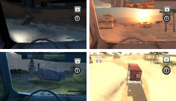 Kamyon Sürücüsü 3D Transporter