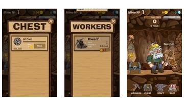 SWIPECRAFT - アイドル鉱業ゲーム