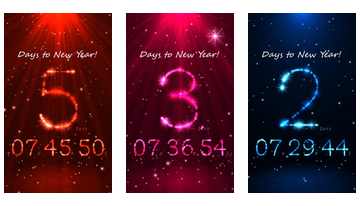 3D New Year Countdown