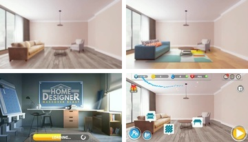 Home Designer - Match + Blast to Make a Makeover