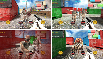 Zombie Attack pöytäkirjan