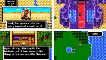 Sárkány Fantasy 8 bites RPG