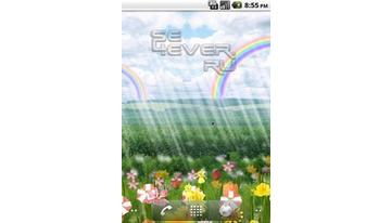 Flower Parade Clock