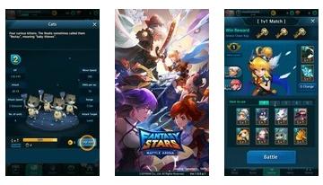 Fantasy Stars: Savaş Arenası