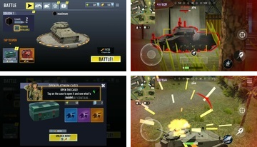 TANK BATTLEGROUNDS: Battle real