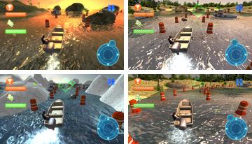 Speed Boat Parkplatz 3D 2015