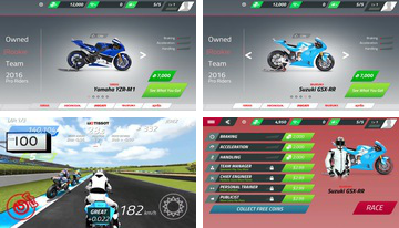 MotoGP Race Campeonato de Quest