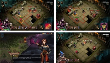 """Grimguard Tactics: End of Legends"""