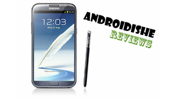 Review des Samsung Galaxy Note II