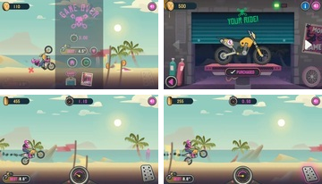Wheelie Cross - Motor Game