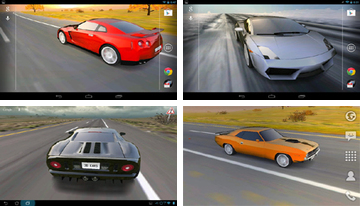 Coche 3D Live Wallpaper