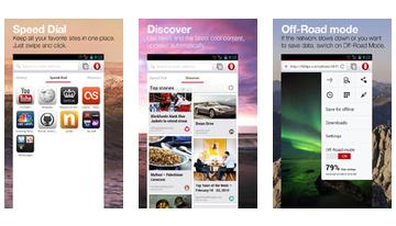 Opera-browseren