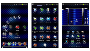 Sphere Neste Launcher Theme 3D