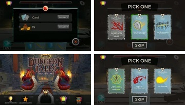 Dungeon Tales: un gioco di carte Deck Building RPG