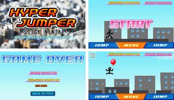 STICK ninja: HYPER JUMPER