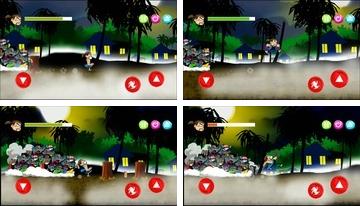 Zombie Kangkung (Zombie Run)