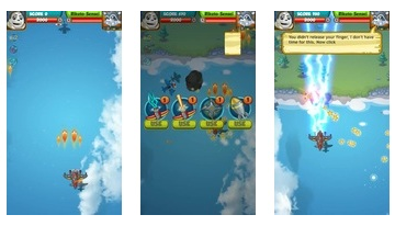 Panda Commander - légi harc