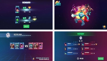 Space Brawls 3v3 battle arena