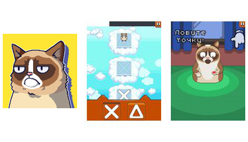 Grumpy Cat Blogiausias Game Ever